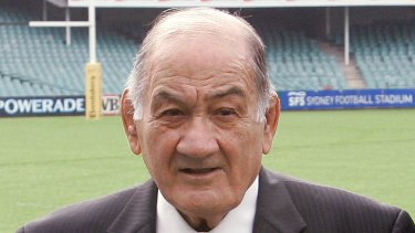 Rugby titan: Sir Nicholas Shehadie