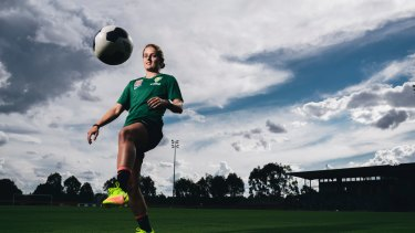 Canberra United defender Ellie Brush.