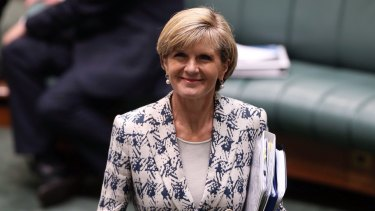 Foreign Affairs Minister Julie Bishop is in Peru where the government will announce the funding on Wednesday.