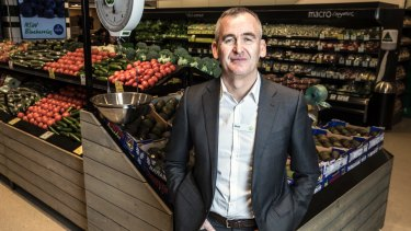 Woolworths CEO Brad Banducci said the supermarket chain had relied too heavily on discounting and specials.