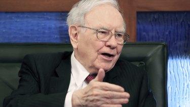 US billionaire Warren Buffett.