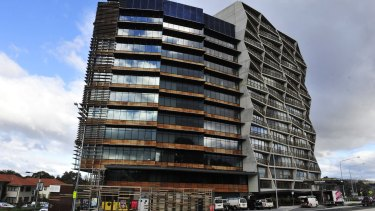 The Nishi Building, New Acton, which has won International Project of the Year at the 2015 Building Awards in London.