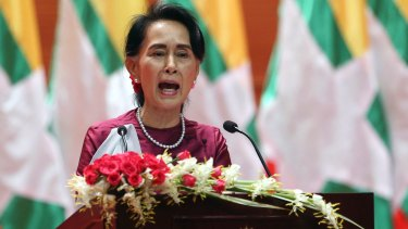 "The UN has urged Myanmar's de facto leader Aung Sun Suu Kyi to immediately end the ""cruel"" security operation."