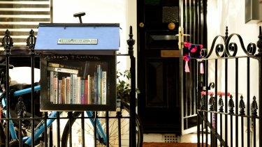 A street library in Paddington.