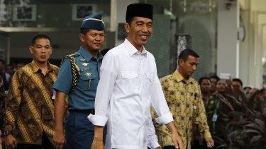 Indonesia's President Joko Widodo.