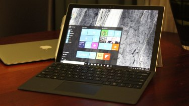 The Surface Pro 4.