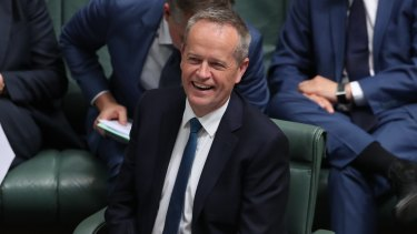 Opposition Leader Bill Shorten during question time on Wednesday.