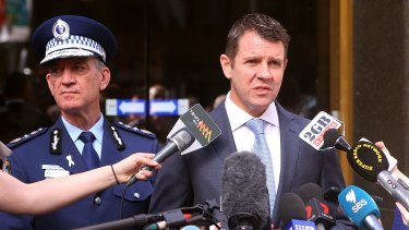 Andrew Scipione and Mike Baird were at the sharp end of some media finger pointing.