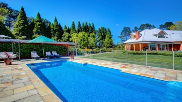 Iona Park comes with extensive equestrian facilities and a swimming pool.