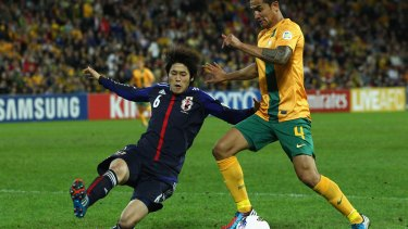 Australia's coach Ange Postecoglou is expecting an up tempo game against Japan on Tuesday night.
