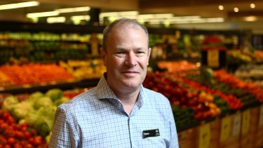 Woolworths director of supermarkets Dave Chambers is increasing staff hours in areas like  fruit and vegetables and checkouts to improve stock availability and service.