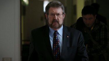 Senator Derryn Hinch supports greater restrictions on the lobbying industry.