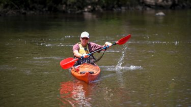 David Wood, owner of Sea Kayak Australia, says beginner paddlers should take ''baby steps'' and learn in safe, calm conditions.