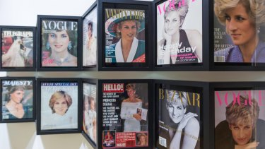 Princess Diana graced numerous magazine covers.