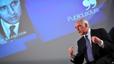 Paul Keating was speaking in Melbourne on a promotional tour for the biography <i>Paul Keating: The Big-Picture Leader</i>.