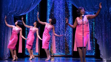 """The Shirelles"" performing Will You Still Love Me Tomorrow in the Carole King musical."