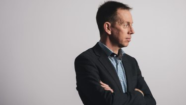 ACT Greens leader Shane Rattenbury is unhappy with the state of election advertising.