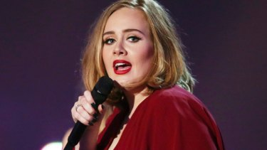 Adele, the biggest selling artist of the year.