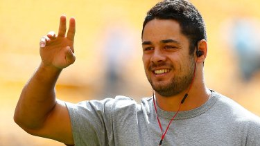 Jarryd Hayne is set to join the Gold Coast Titans.