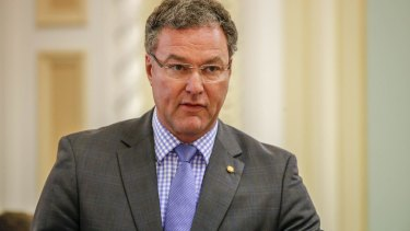 John-Paul Langbroek says Queensland Health staff are still being overpaid.