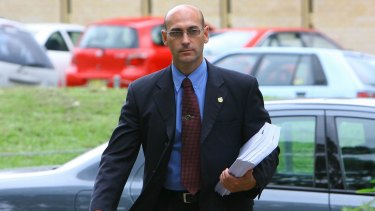 Detective Sergeant Ashley Bryant in 2006.