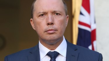 Australia's Immigration Minister Peter Dutton says Australia can't afford to be taken for a ride by people who refuse to provide details about their protection claims.