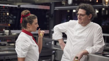 'The bar is set so low, it's impossible to fail,' Marco Pierre White, pictured with Olympian Jess Fox, declares. Oh Marco, you don't know the half of it.