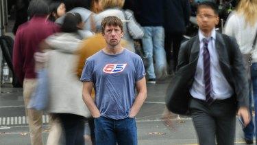 Man in the street: Tom Walker, aka Jonathan Pie, is performing Down Under.