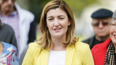 Child Safety Minister Shannon Fentiman says she has no plans to step aside.