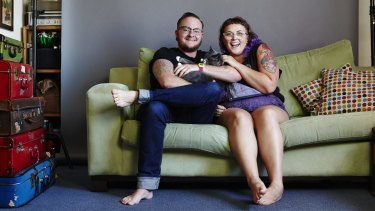 Oh let me be, your Teddy bear: Teddy Cook and Katy Jones.