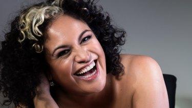 Soul singer Kylie Auldist.