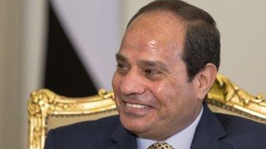 Shared values? Egyptian President Abdel-Fattah al-Sisi.