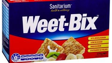 Weet-Bix has five health stars.