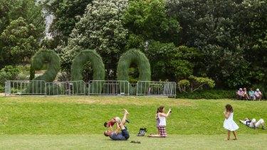 The Botanic Gardens celebrated 200 years this year.