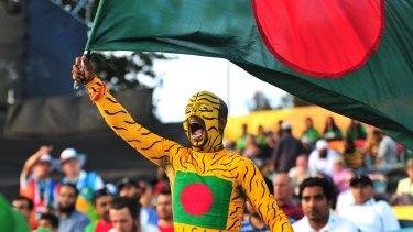 Bangladesh fan Fahimul Hoque.