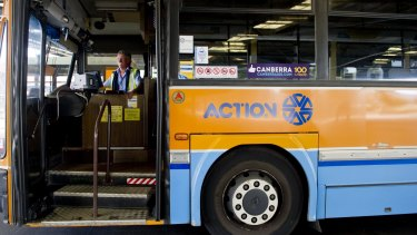 Andrew Barr is holding out the threat of selling the ACTION bus network if he can't achieve reforms.