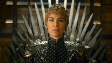 Lena Headey as Cersei Lannister in Game of Thrones.