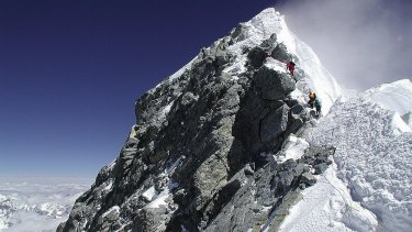 The couple claimed to have climbed Everest, but many say their timeline does not add up.