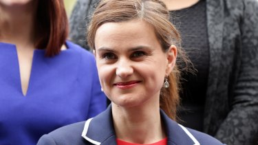 In this May 12, 2015 photo, Labour Member of Parliament Jo Cox poses for a photograph.