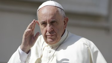 Pope Francis Francis called for policies to 'drastically' reduce polluting gases, saying technology based on fossil fuels 'needs to be progressively replaced without delay' and sources of renewable energy developed.
