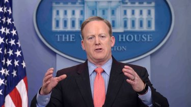 White House press secretary Sean Spicer's message to disgruntled workers is clear.