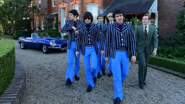 Suit yourself, lads: The Easybeats take on London at its own game.