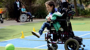 A camp run by Muscular Dystrophy Australia. Supplied