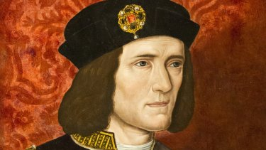 Richard III, by an unknown 16th century artist.
