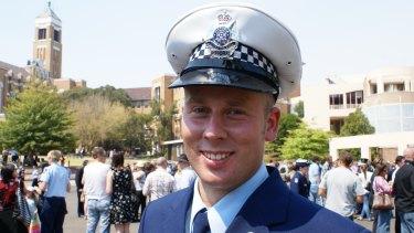 Michael Maynes at his graduation in 2009.