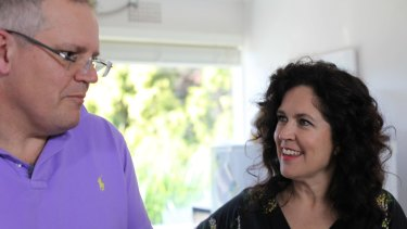 Scott Morrison seemed more comfortable talking about he and his wife's 14-year struggle with IVF than his religion with Annabel Crabb on Kitchen Cabinet.
