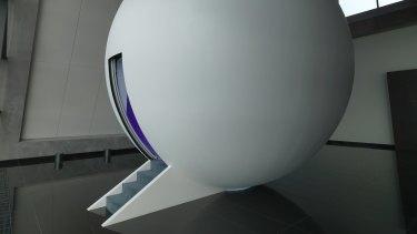 Enter spaceman: James Turrell's Unseen Seen.