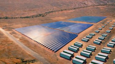 Grid-scale batteries can store renewable energy to be used at times of peak demand.