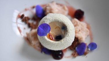 Duchessa zabaglione dessert.