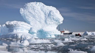 Antarctic ice sheets may melt faster than currently expected, leading to more rapid sea-level rise.